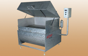 Fat Melting Tank With Steam Grill