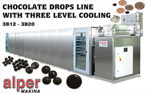 Chocolate Drops Line With Three Level Cooling